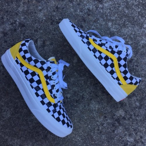 b0db6615451158 Yellow Checkered Custom — vintagewavez