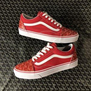 Red Gohard Old Skool Vans Custom