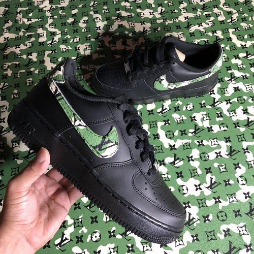 sneakers for cheap 08b23 68c85 Camo black Air Force 1 Custom. IMG 3916.jpeg