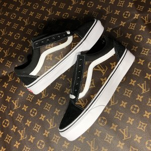 5a4f3a41e461 Side Panel Vans Custom Lv canvas