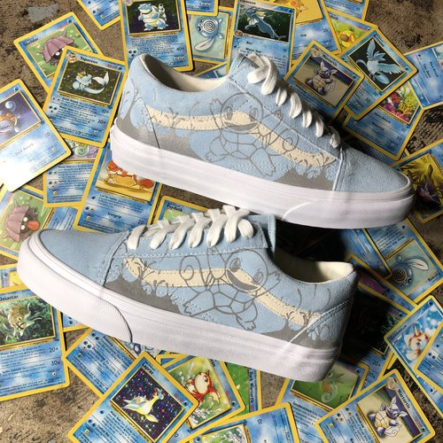 64108d7394a0 3M Squirtle Vans Custom — vintagewavez