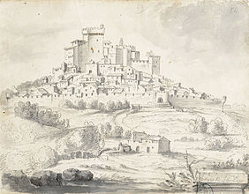 I don't really know anything about France - I just googled this shit and read a wikipedia page. This is a drawing someone made of the town in the late 1600s.