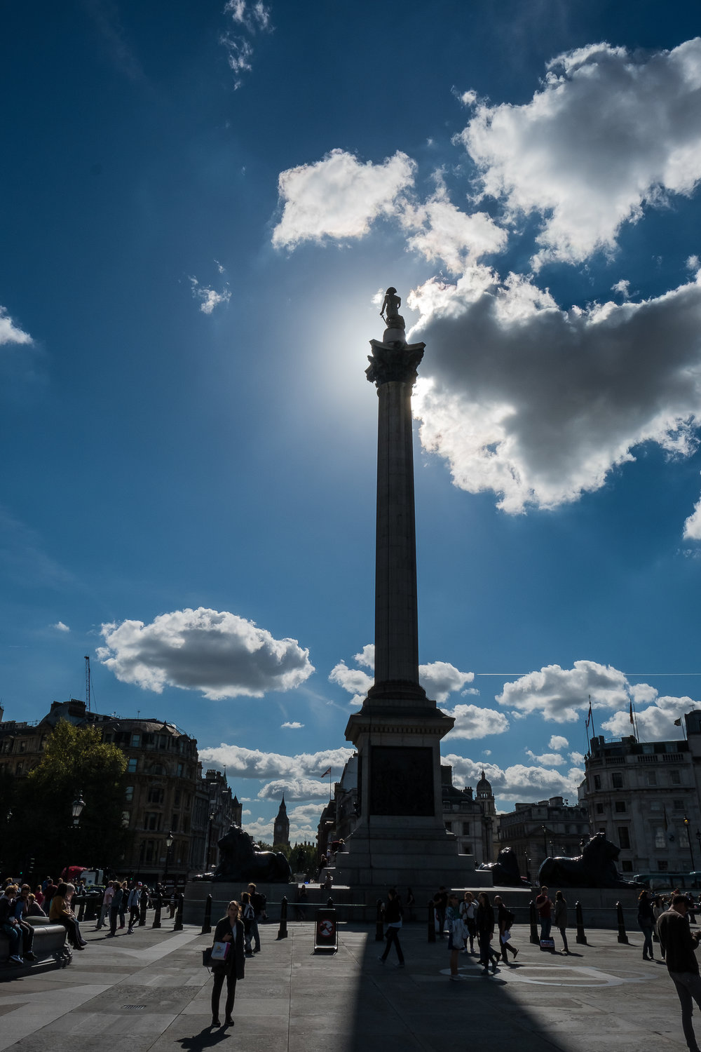 The rod of Trafalgar...  Well, it's actually called the Nelson's Column, but the Rod sounds much more interesting.