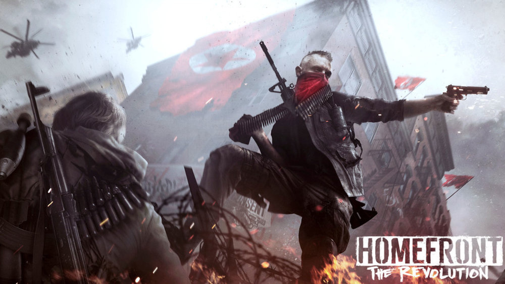 Homefront: The Revolution - RYZIN Provided Weapons, Vehicles, and More for Crytek/Dambuster Studios.(UNDER NDA)