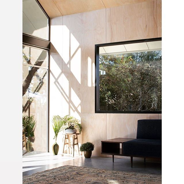 // the sun is out this Friday afternoon... we hope you have a great weekend. image of the living room of osk designed seddon house. . . . #architecture #light #sunlight #material #interiordesign #melbournearchitecture #australianarchitecture