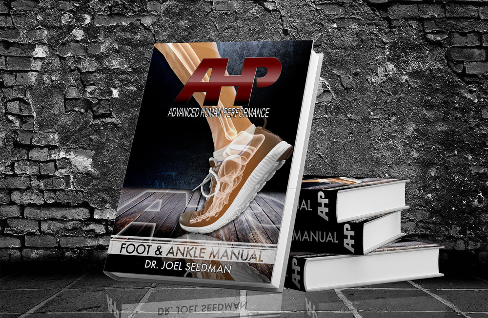 NEW E-BOOK & TRAINING PROGRAM   Want to improve your foot & ankle performance? Check out Dr. Seedman's Ultimate Foot & Ankle Manual (Learn More    HERE )