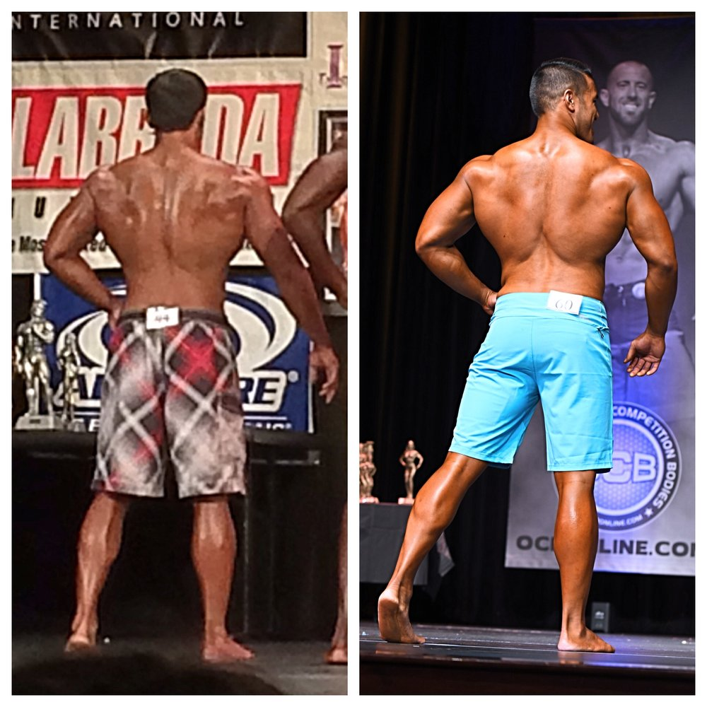 BEFORE & AFTER  3 Years of Training with Dr. Seedman