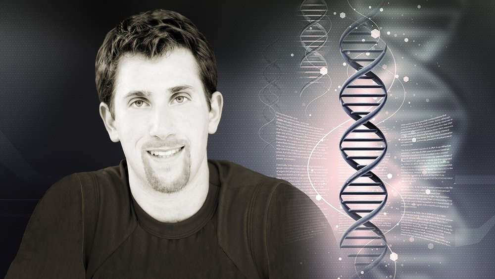 Joel with DNA Strand 3.jpg