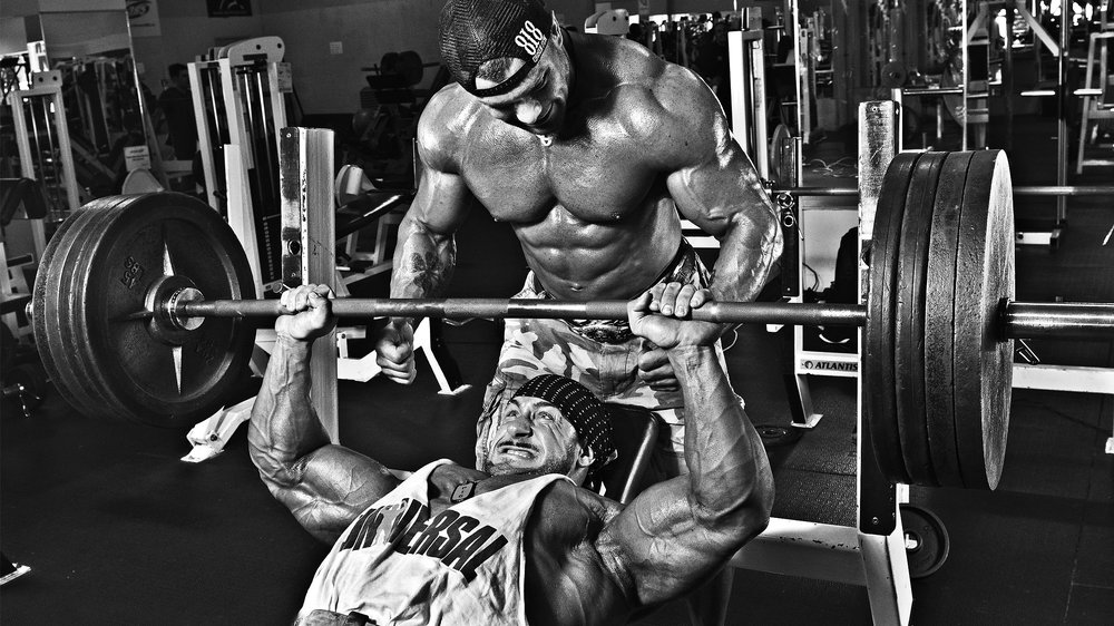 Bench Press and Spotter.jpg