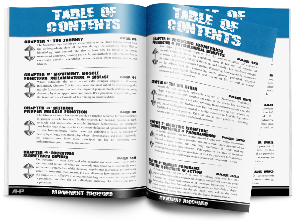 Table of Contents | Look Inside  + CLICK TO ENLARGE