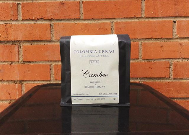 Colombia Urrao - Heirloom Caturra 🤘🏻strawberry, melon, kiwi - this beautifully complex coffee is one of our current favorites from @cambercoffee give it a try before we drink it all 🍓🥝