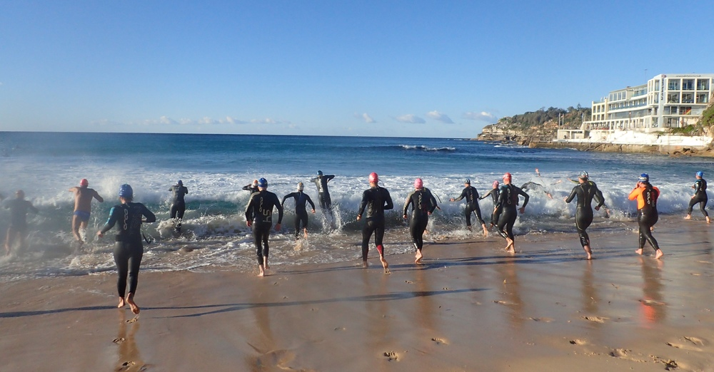 South Bondi surf swim start with PB3 July 2016