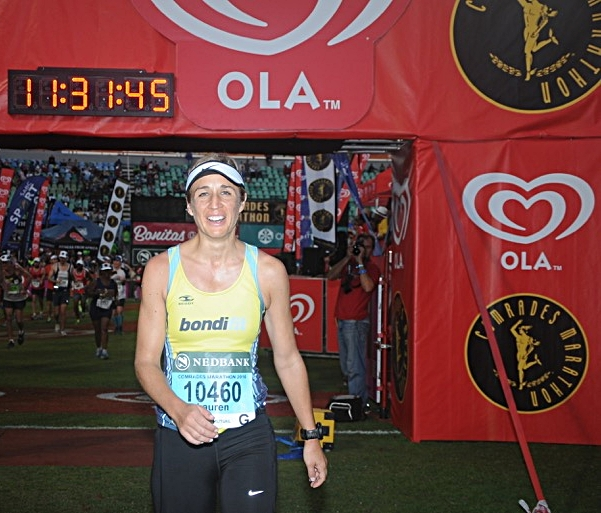 Coach Spot trained Lauren for the Comrades Marathon (89kms) in 2016. Lauren & her husband Thinus have completed 5 of the Big 6 marathons under Spot's tutelage with only Berlin to go in September 2016!