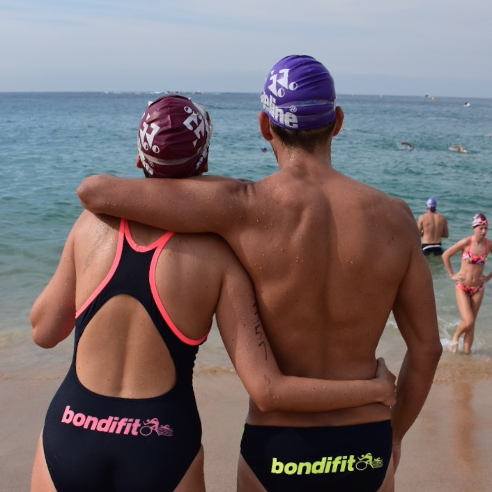 Bondi Fit Swimmers are guaranteed to make you swim 3.8% quicker!