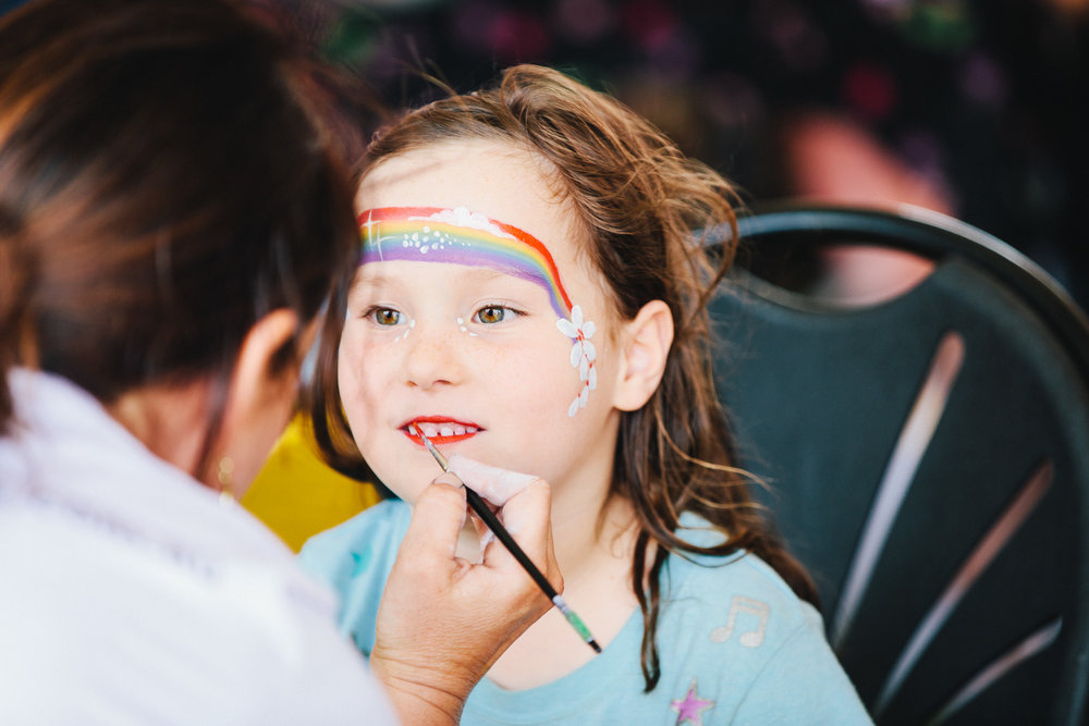Essential kids face painting