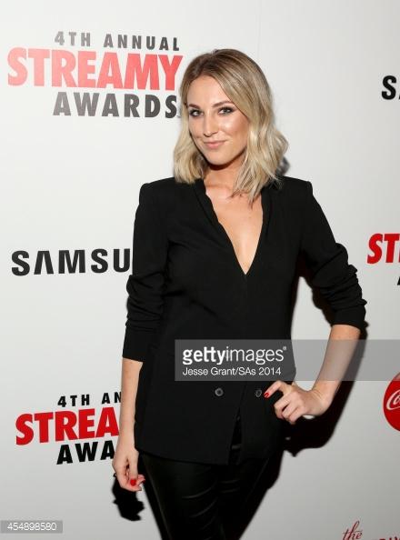 Sarah Swike  Streamy Awards 2015