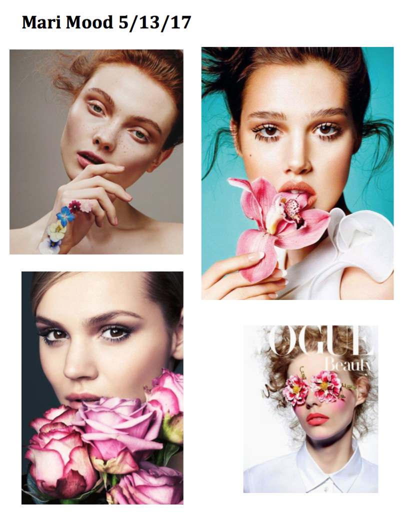 Floral Mood Board