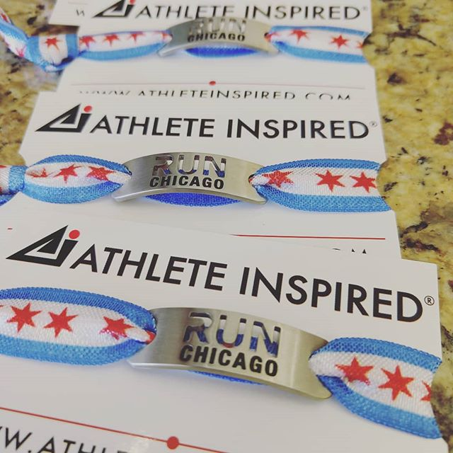 Need some bling?  Get @ath_inspired #runchicago swag.  It's great for anytime of the year!