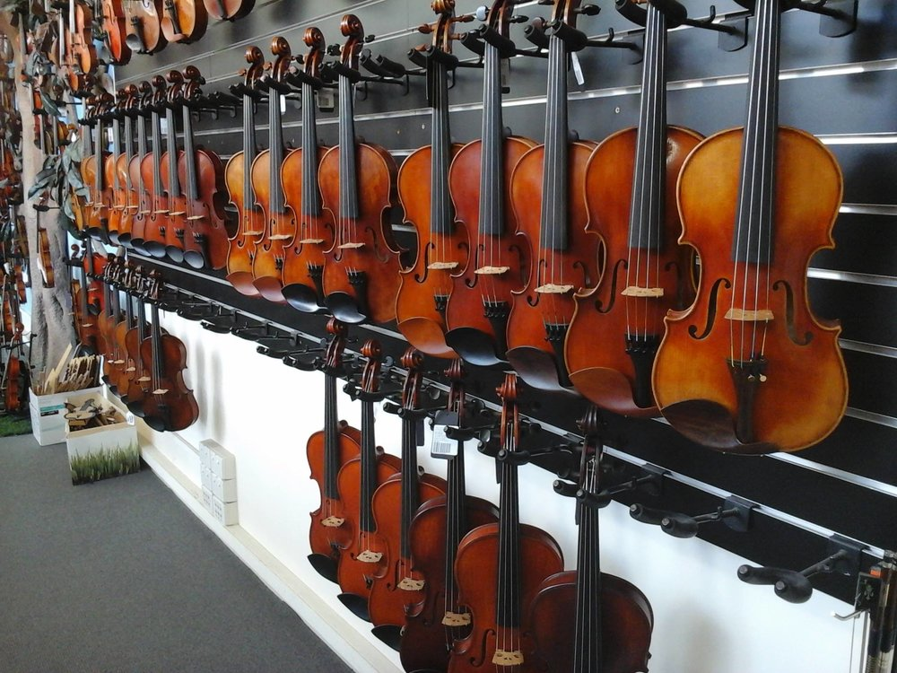 Whitehorse Music - Retail Violins