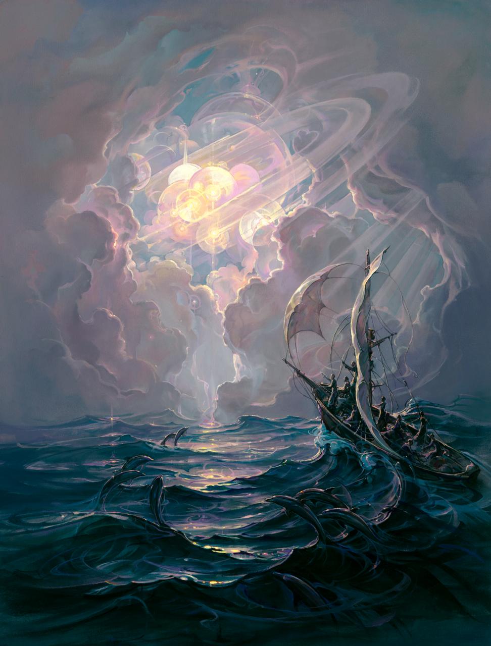 Voyage of Man  by John Pitre
