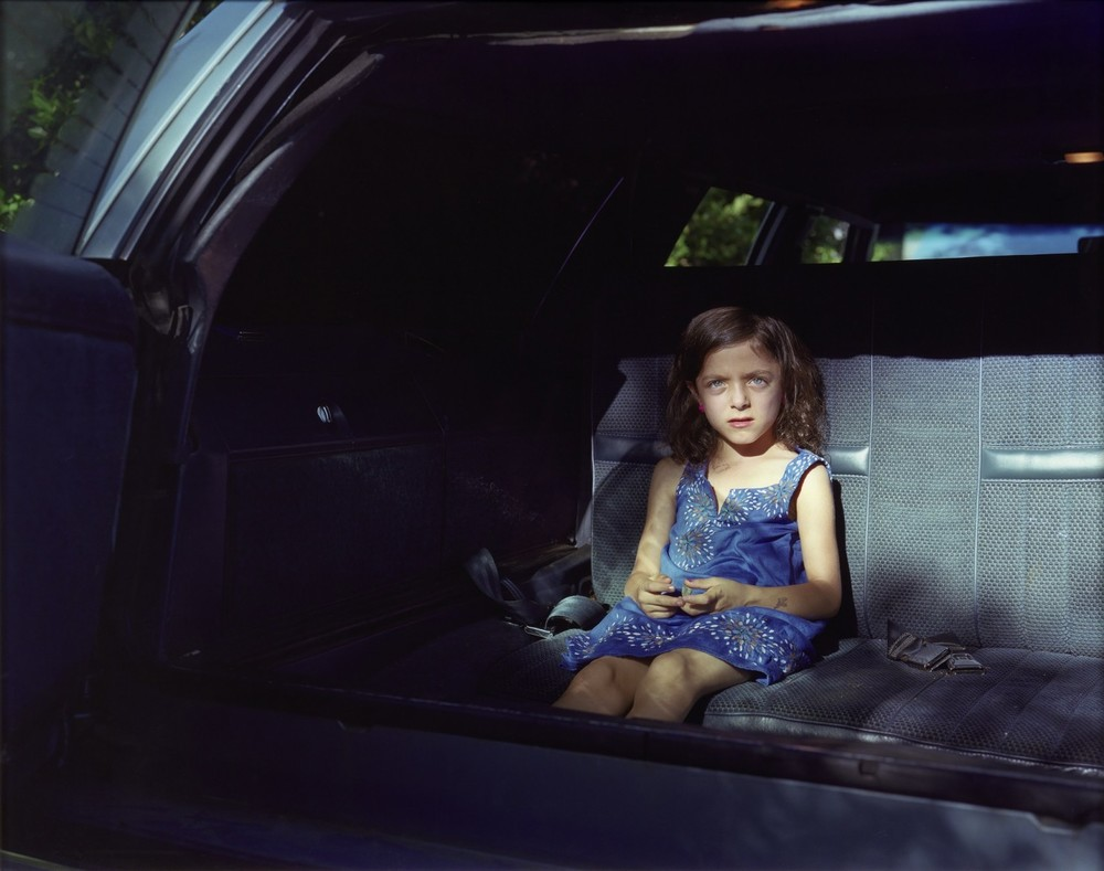 """Mavis in the Backseat"" by Cynthia Henebry, 2nd place winner"