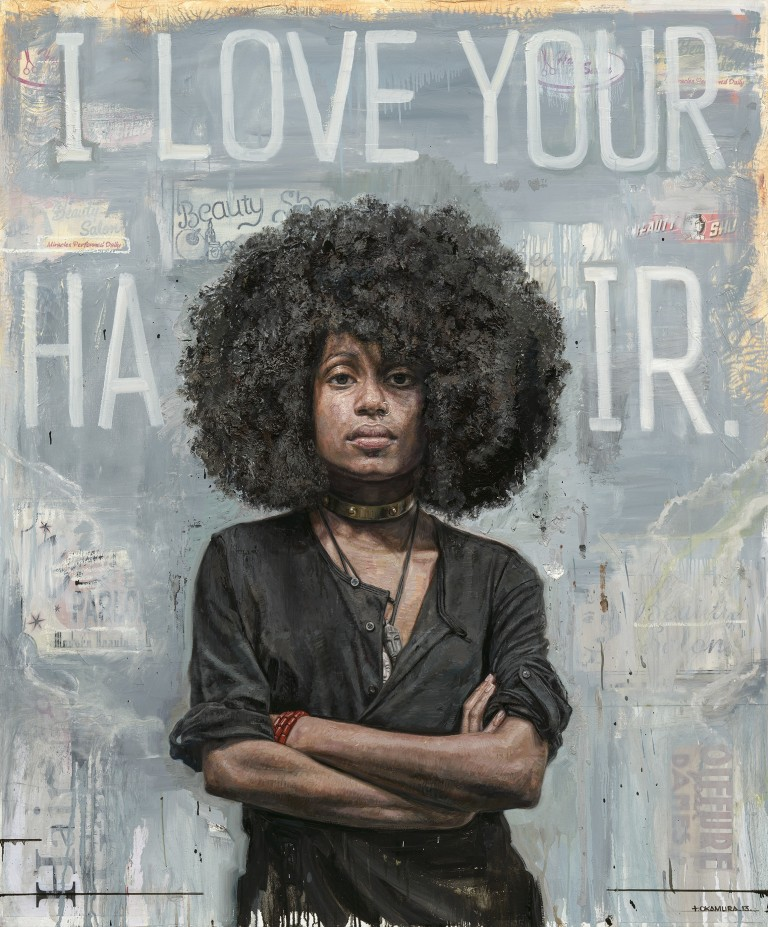 """Love Your Hair"" by Tim Okamura, 2013"