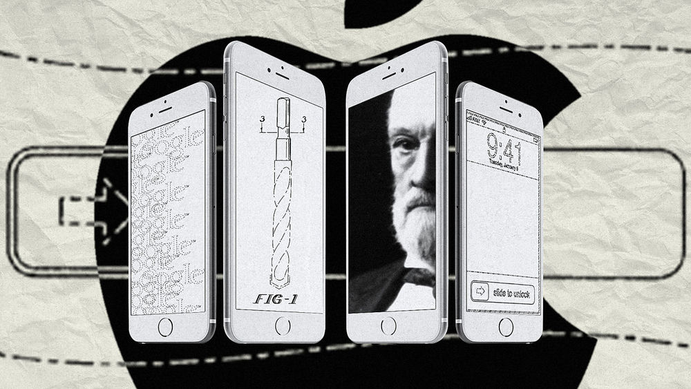 Apple vs. Samsung and History of Patents. Source:  FastCoDesign