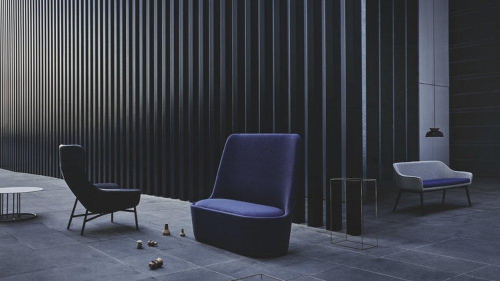 Furniture on show by DenFair. Source: glenproebstel.com