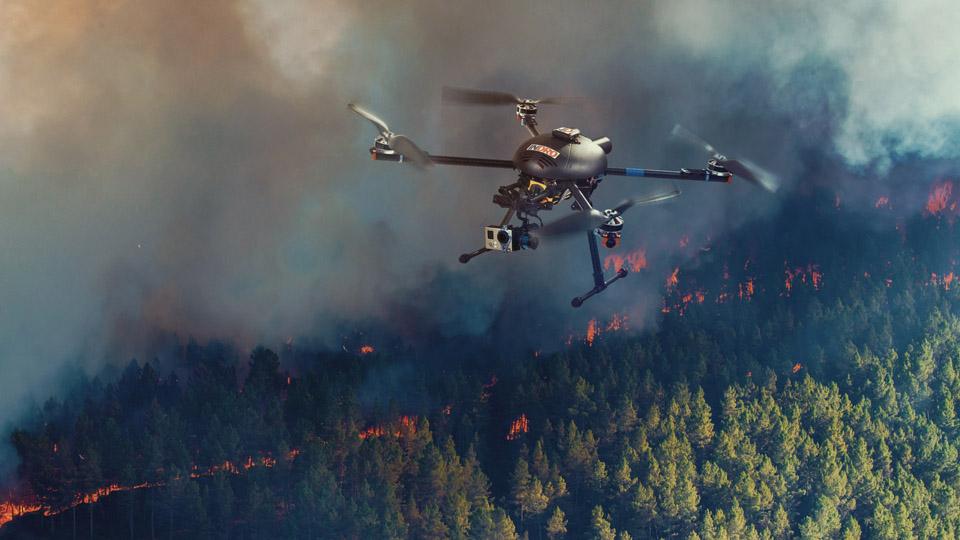 The 'EOAMS' Forest Surveillance Drone. Source: kongsberggeospatial.com/company/news-media