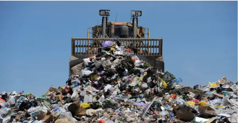 Victorian produced landfill. photo: Graham Tidy Image source: www.theage.com.au