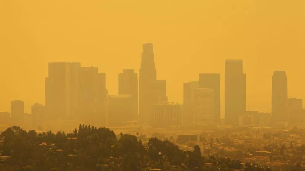 Smog over LA. Image source: www.motherjones.com