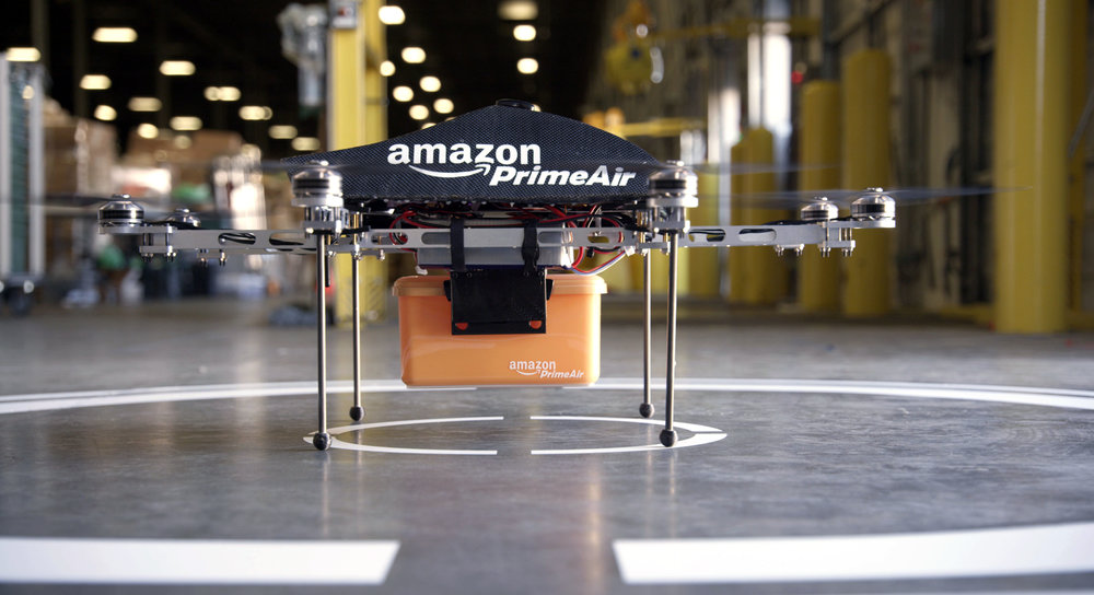 Amazon's Delivery Drone Source: www.time.com
