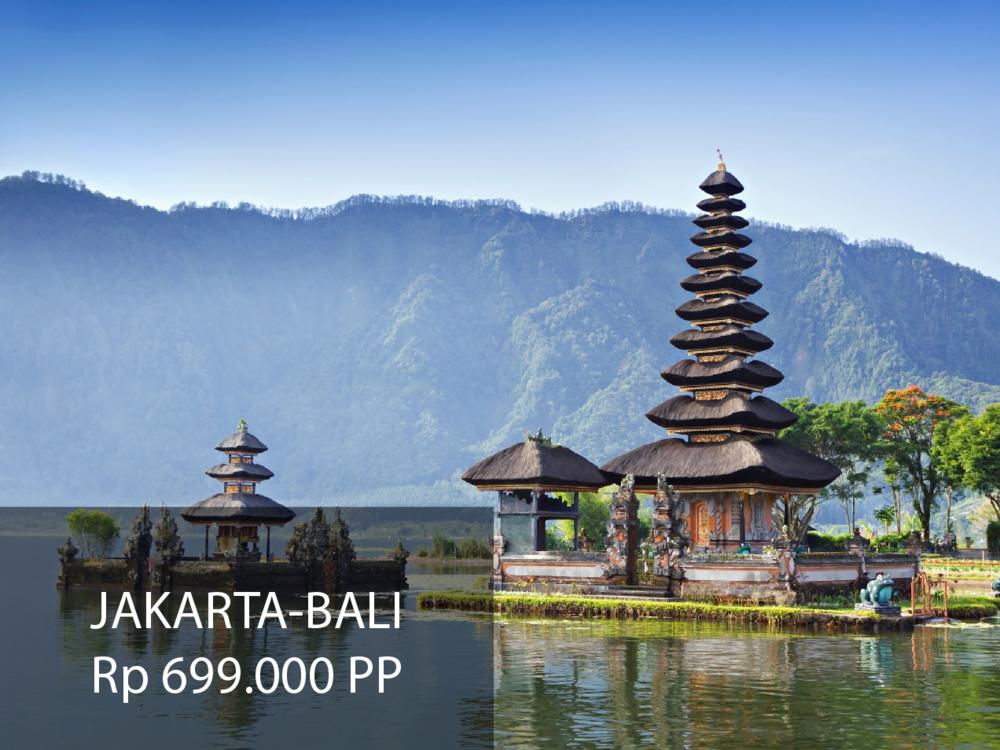 Jakarta-Bali Rp 350.000