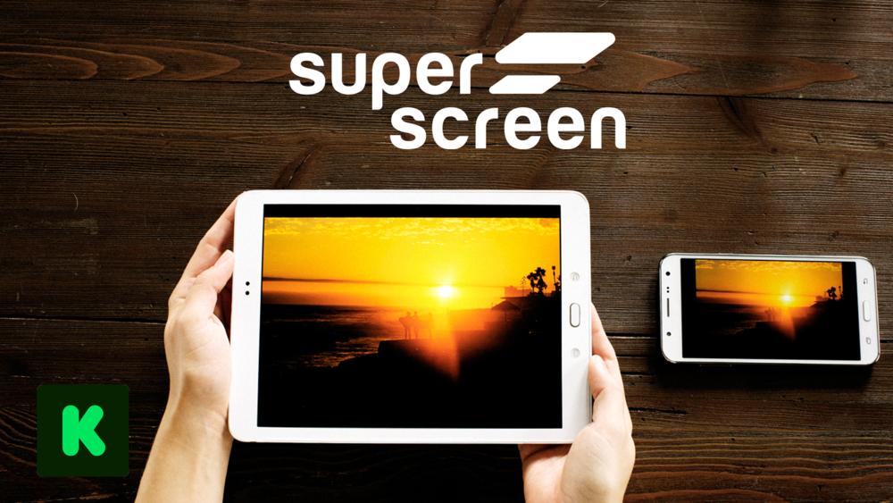 Superscreen - $2,542,045 • 5083% FundedKickstarter •2017