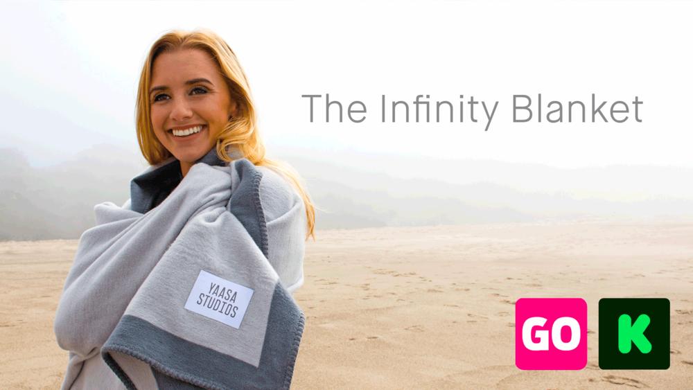 Yaasa Blanket - $97,327• 388%FundedKickstarter →Indiegogo •2017
