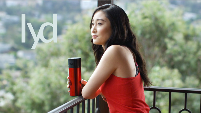lyd Intelligent Bottle - $112,284Kickstarter → Indiegogo