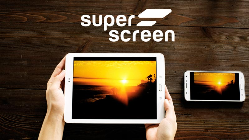 Superscreen - $2,542,045Kickstarter