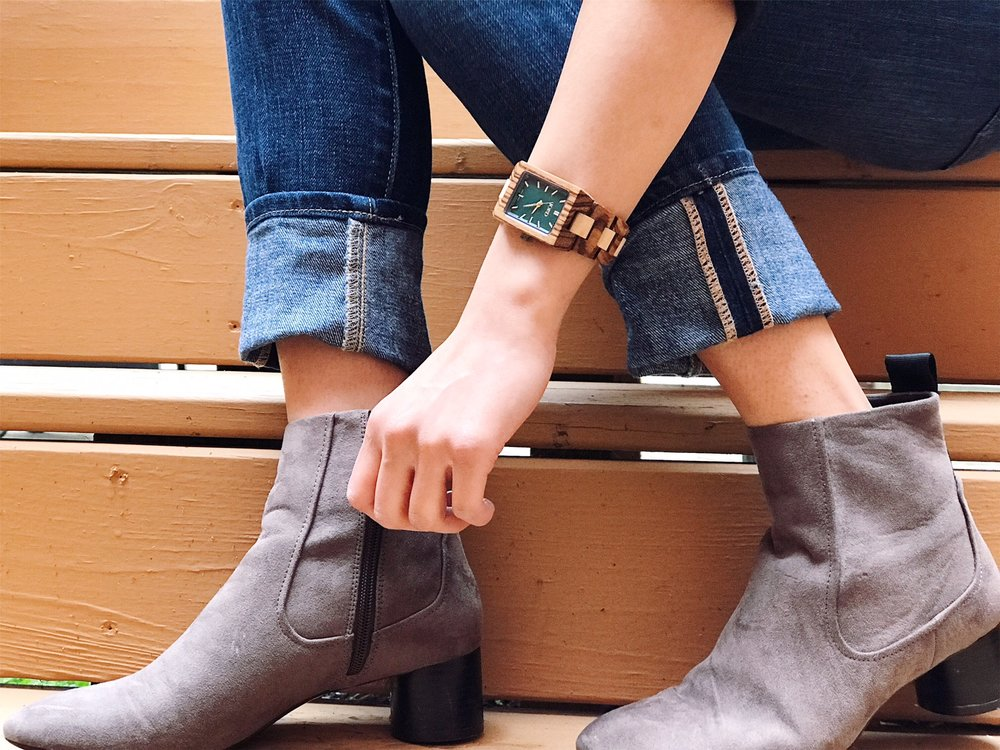 Zara Gray Booties