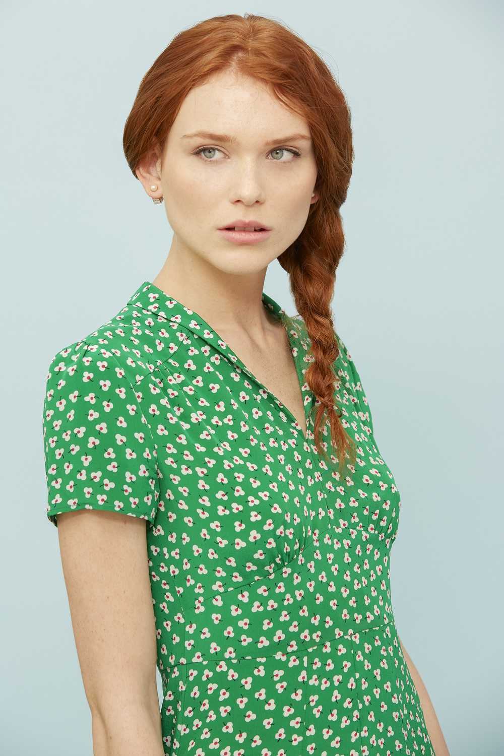 GREEN DOT FLORAL - SHOP NOW