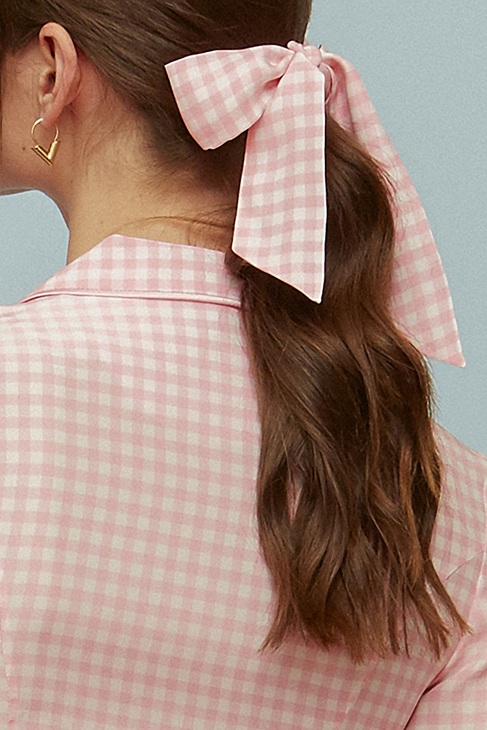 Pale Pink Gingham
