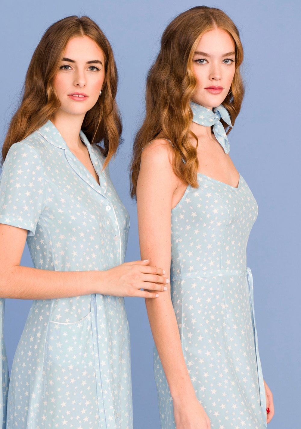PALE BLUE STARS - SHOP NOW