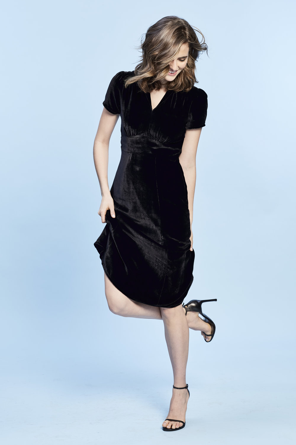 BLACK VELVET - AVAILABLE AT BERGDORFS