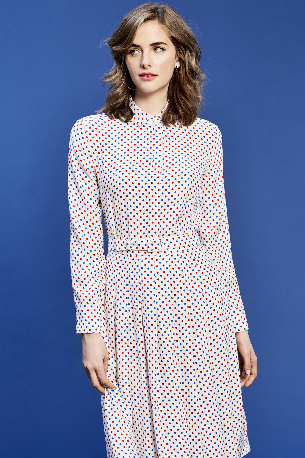 RED AND BLUE POLKADOT - SHOP NOW