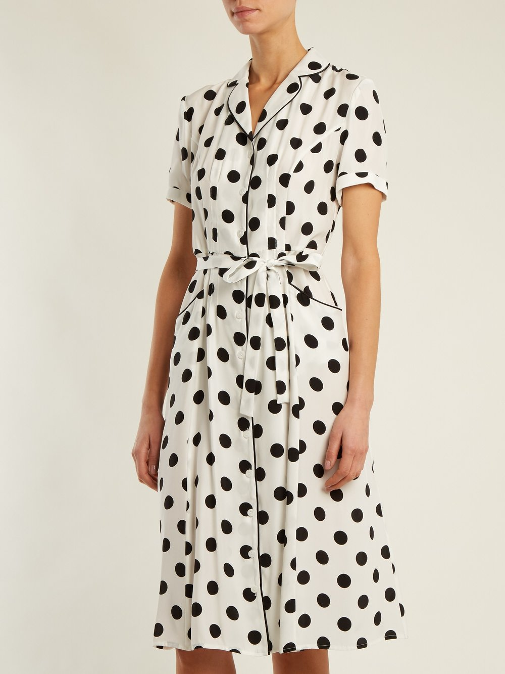 LARGE BLACK AND WHITE POLKA DOT - SHOP NOW