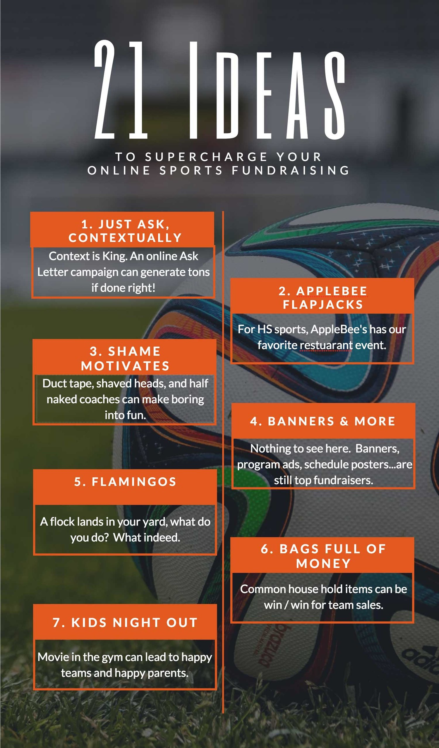 21 actionable fundraising ideas for sports and how to leverage the