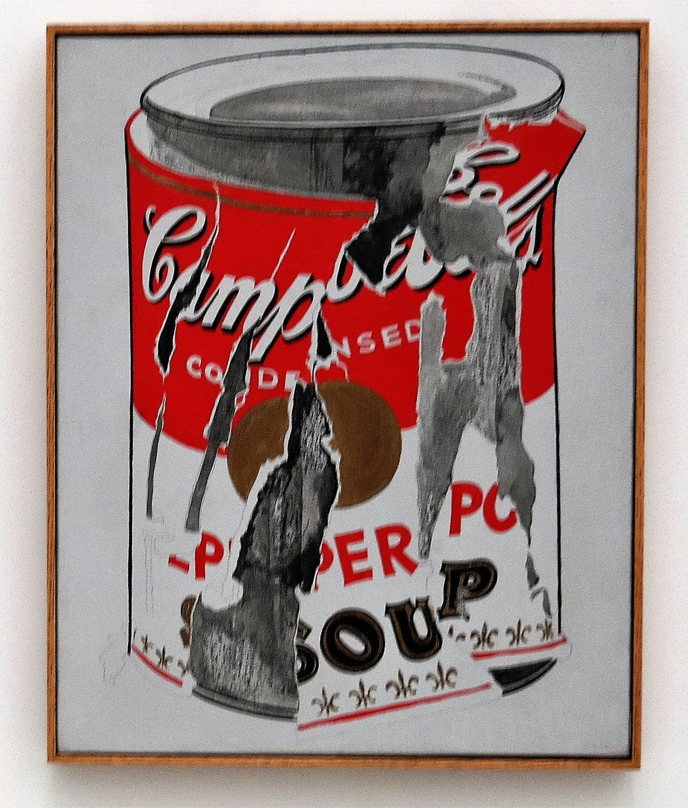 Small Torn Campbell's Soup Can (Pepper Pot), Andy Warhol, 1962