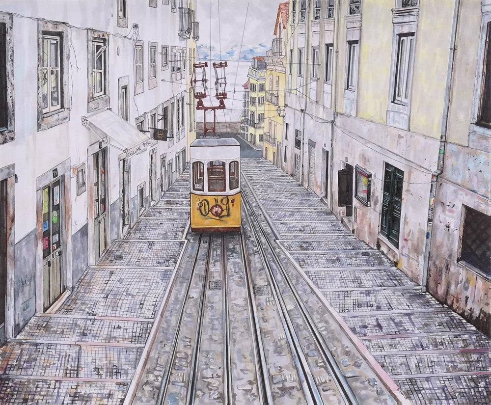 Approaching Trolley