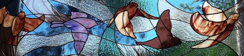Colleen Clifford custom stained glass serving Humboldt County
