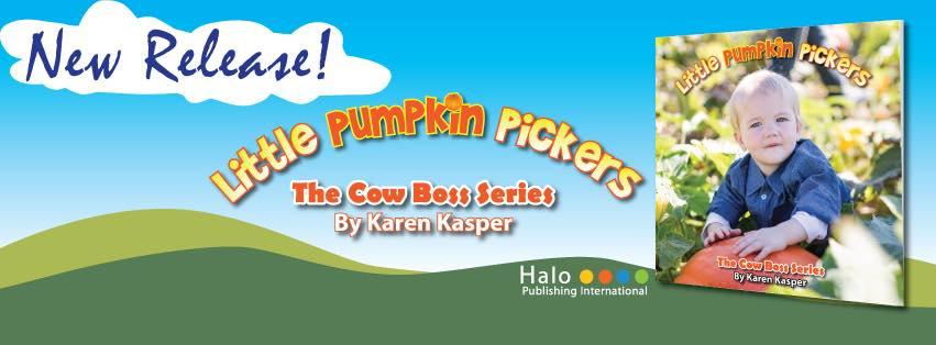 children book | little pumpkin pickers | pumpkins | pumpkin patch | local author | support breast cancer