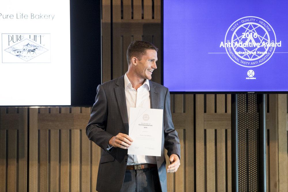 Award Winner :   Pure Life Bakery   / Aidan Anderson